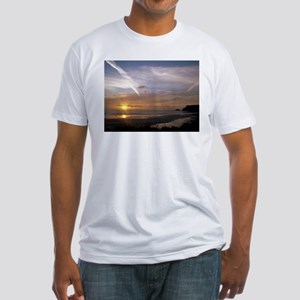 super sonic chemi trails and sun set T-Shirt
