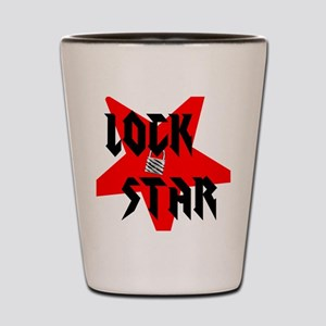 Lock Star Shot Glass