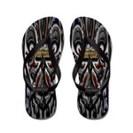 Mami Chula Hispanic Heritage Flip Flops