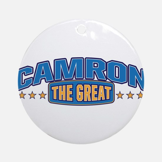 The Great Camron Ornament (Round)