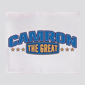 The Great Camron Throw Blanket
