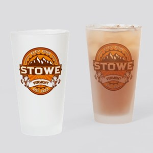 Stowe Tangerine Drinking Glass