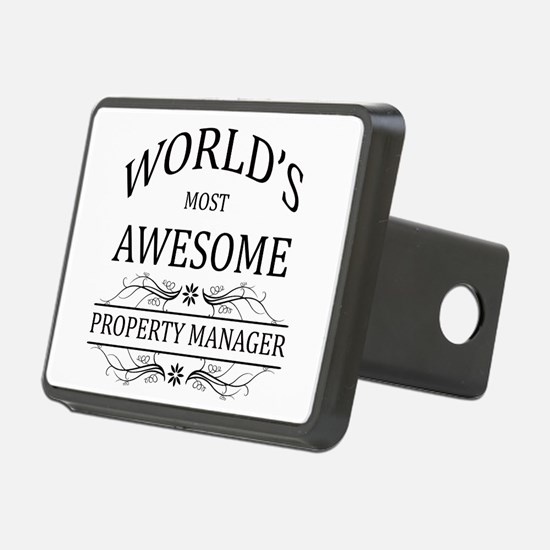 World's Most Awesome Property Manager Hitch Cover