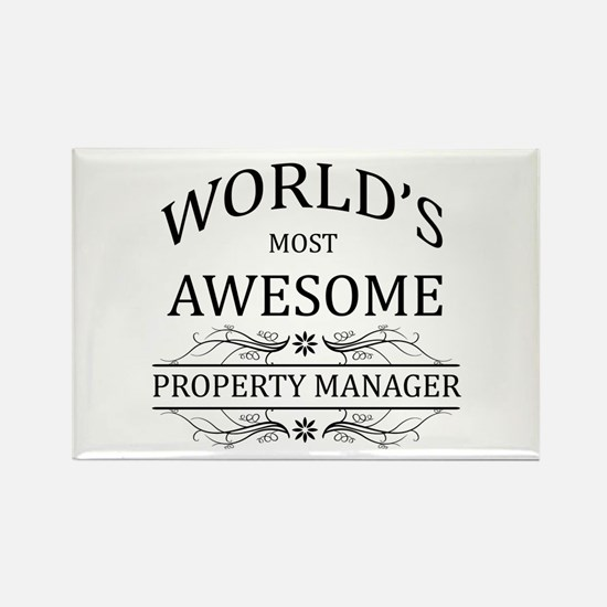 World's Most Awesome Property Manager Rectangle Ma