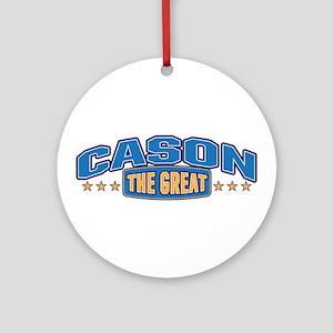 The Great Cason Ornament (Round)