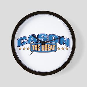 The Great Cason Wall Clock