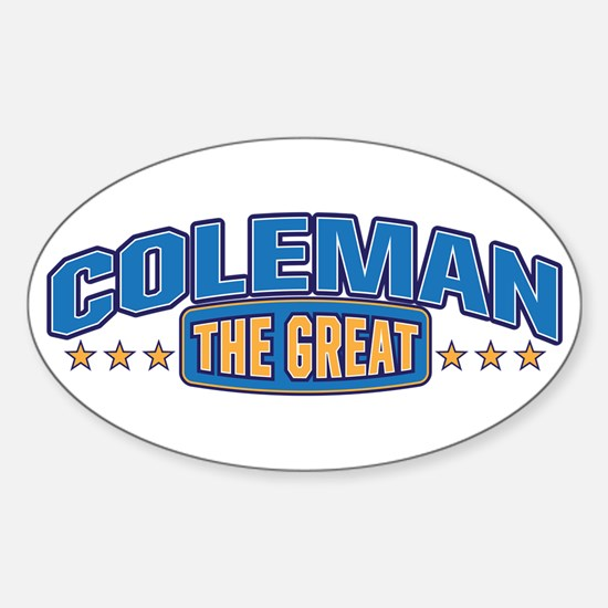 The Great Coleman Decal