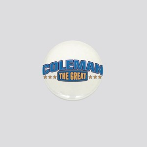 The Great Coleman Mini Button