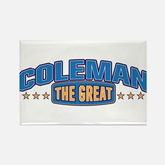 The Great Coleman Rectangle Magnet