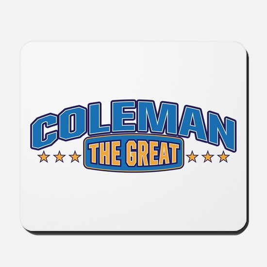 The Great Coleman Mousepad