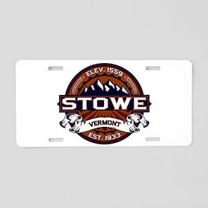 Stowe Vibrant Aluminum License Plate