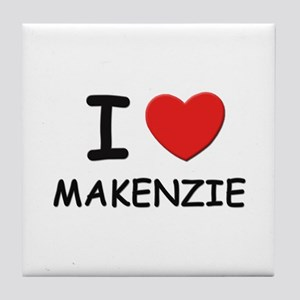 I love Makenzie Tile Coaster