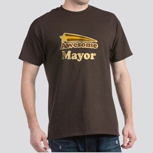 Awesome Mayor Dark T-Shirt