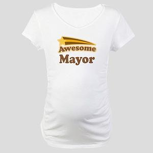 Awesome Mayor Maternity T-Shirt