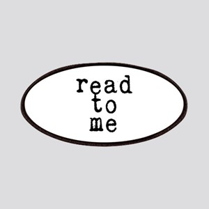 read to me 10x10 Patch