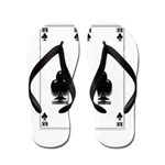 Ace Of Clubs Flip Flops