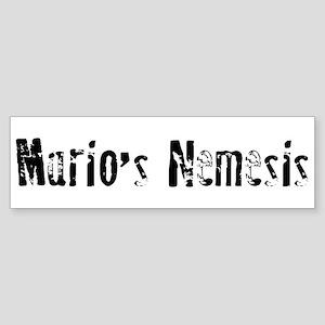 Mario's Nemesis Bumper Sticker