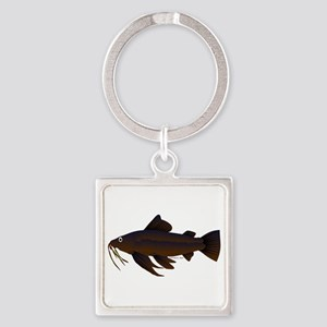 Armored Catfish fish Keychains
