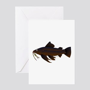 Armored Catfish fish Greeting Card