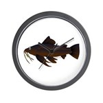 Armored Catfish fish Wall Clock