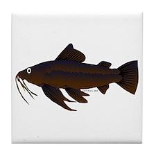 Armored Catfish fish Tile Coaster