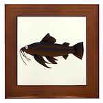 Armored Catfish fish Framed Tile