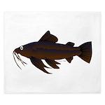 Armored Catfish fish King Duvet