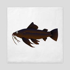 Armored Catfish fish Queen Duvet