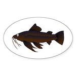 Armored Catfish fish Sticker