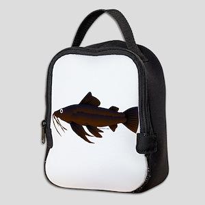 Armored Catfish fish Neoprene Lunch Bag