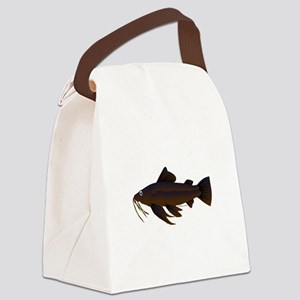 Armored Catfish fish Canvas Lunch Bag