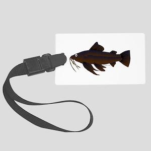 Armored Catfish fish Luggage Tag