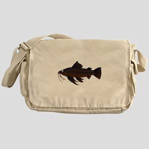 Armored Catfish fish Messenger Bag
