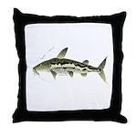 Spotted Sorubim (Shovelnosed Catfish) Throw Pillow