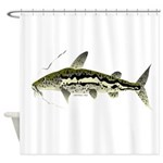 Spotted Sorubim (Shovelnosed Catfish) Shower Curta