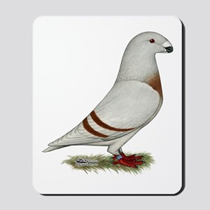 Show Racer Red Bar Pigeon Mousepad