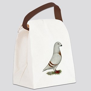 Show Racer Red Bar Pigeon Canvas Lunch Bag