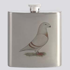 Show Racer Red Bar Pigeon Flask