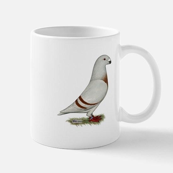 Show Racer Red Bar Pigeon Mug