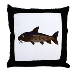 Amazon Ripsaw Catfish fish Throw Pillow