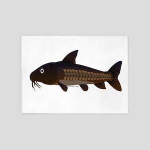 Amazon Ripsaw Catfish fish 5'x7'Area Rug