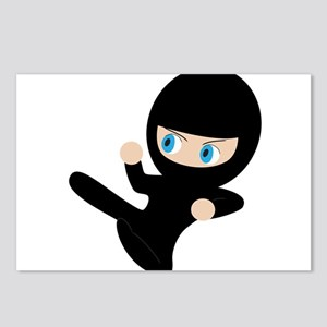 Ninja Postcards (Package of 8)
