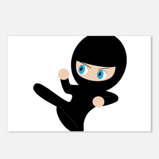Ninja Postcards (Package of 8)