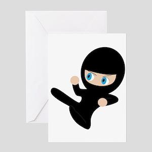 Ninja Greeting Card