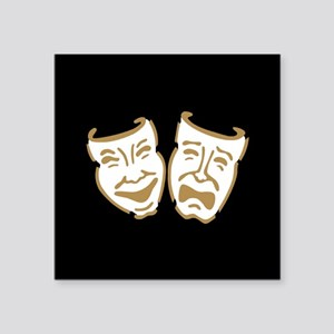 Drama Mask Sticker
