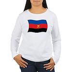 Polyamory Flag Women's Long Sleeve T-Shirt
