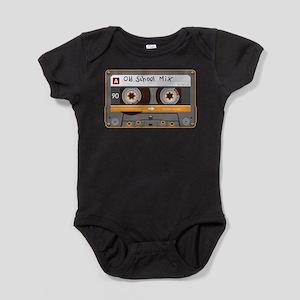 Old School Mix Cassette Tape Body Suit