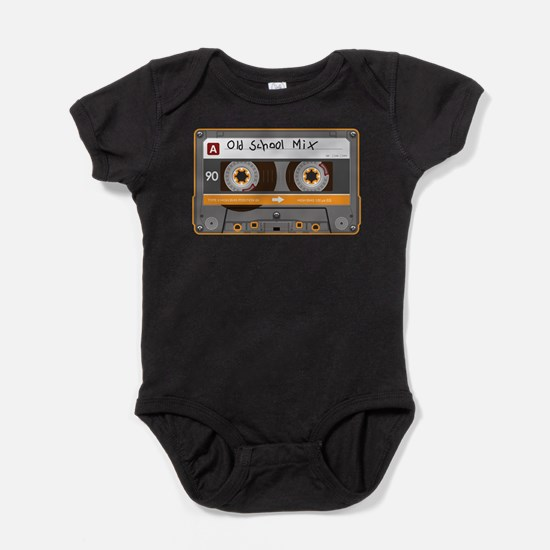 Old School Mix Cassette Tape Body Suit