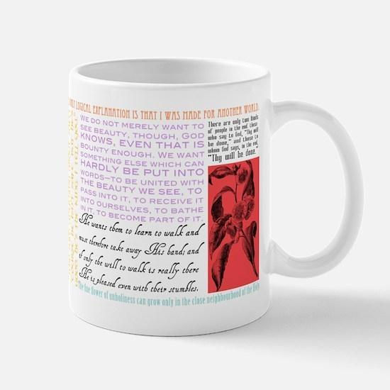 C.S. Lewis Quotes Mugs