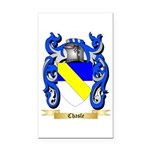 Chasle Rectangle Car Magnet